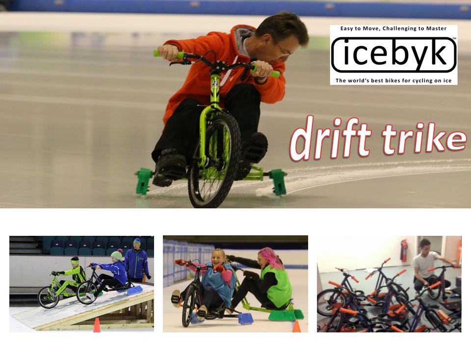 Icebyk DriftTrike montage